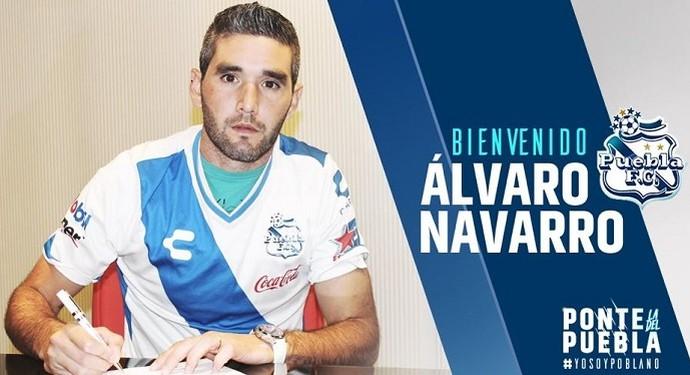 Alvaro Navarro Puebla (Foto: Site Oficial Puebla)