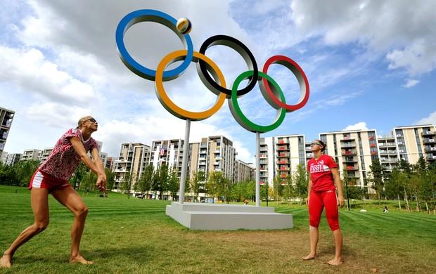Vila Olímpica de Londres (Foto: Getty Images)