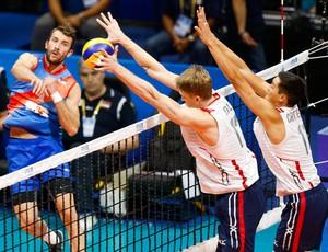vôlei Sérvia x EUA Liga Mundial (Foto: Divulgação / FIVB)