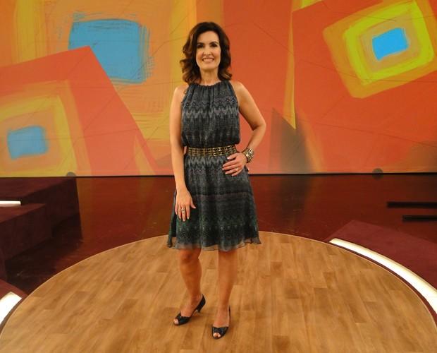 Look Fátima 1009 (Foto: Encontro com Fátima Bernardes/TV Globo)