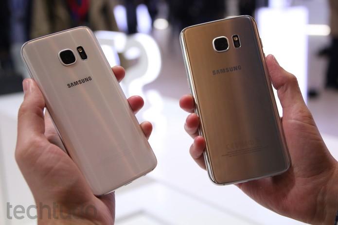 Galaxy S7 e Galaxy S7 Edge (Foto: Fabrício Vitorino/TechTudo)