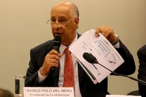 Marco Polo Del Nero em Brasília (Foto:  FRANCISCO STUCKERT - Agência Estado)