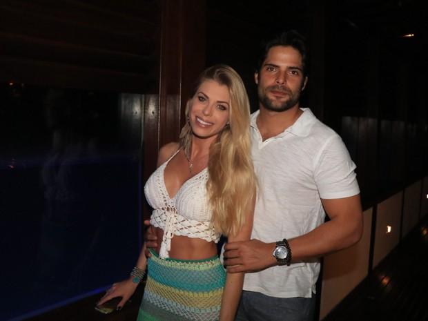 Caroline Bittencourt em evento em hotel em Jericoacoara, no Ceará (Foto: Fred Pontes/ Divulgação)