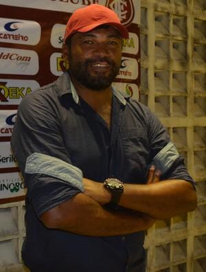 Índio Ferreira, Internacional-PB (Foto: Cisco Nobre / GloboEsporte.com/pb)