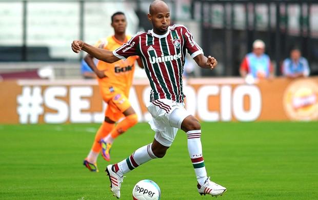 Wellington Silva na partida do Fluminense contra o Nova Iguaçu (Foto: Bruno Turano / Photocamera)