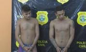 Polícia Civil prende duas pessoas acusadas por um duplo assassinato em Cruzeiro do Sul (Reprodução/Rede Amazônica Acre)