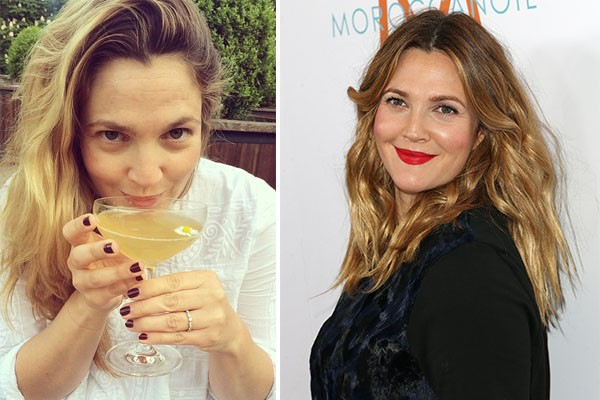 Drew Barrymore (Foto: Instagram e Getty Images)