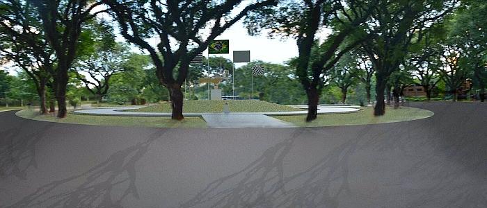 Praça Ayrton Senna do Brasil, em SP