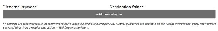 Opção de download por palavra chave (Foto: Reprodução/André Sugai)