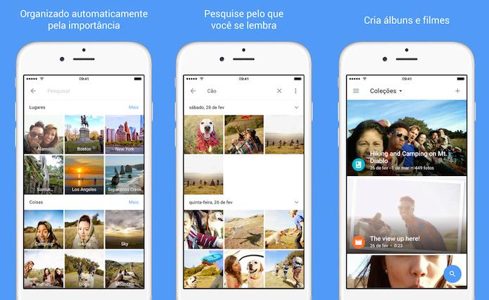 Google Fotos agora está mais completo e independente do Google+ (Foto: Divulgação/AppStore)