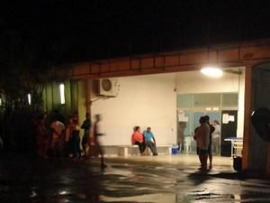 Tenente chegou a ser levado para hospital, mas não resistiu (Foto: Edvaldo Alves/ Site Liberdadenews.com.br)
