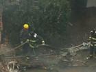 Bombeiros relembram primeiras horas após queda de avião de Campos