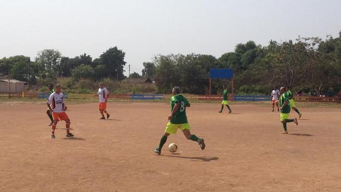 Futebol Master em Guajará (Foto: Junior Freitas)