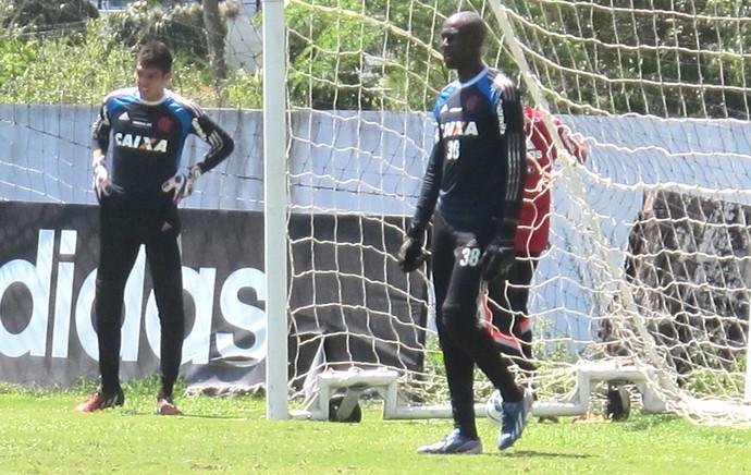 Rodrigo Antunes, Goleiro Flamengo (Foto: Thales Soares )