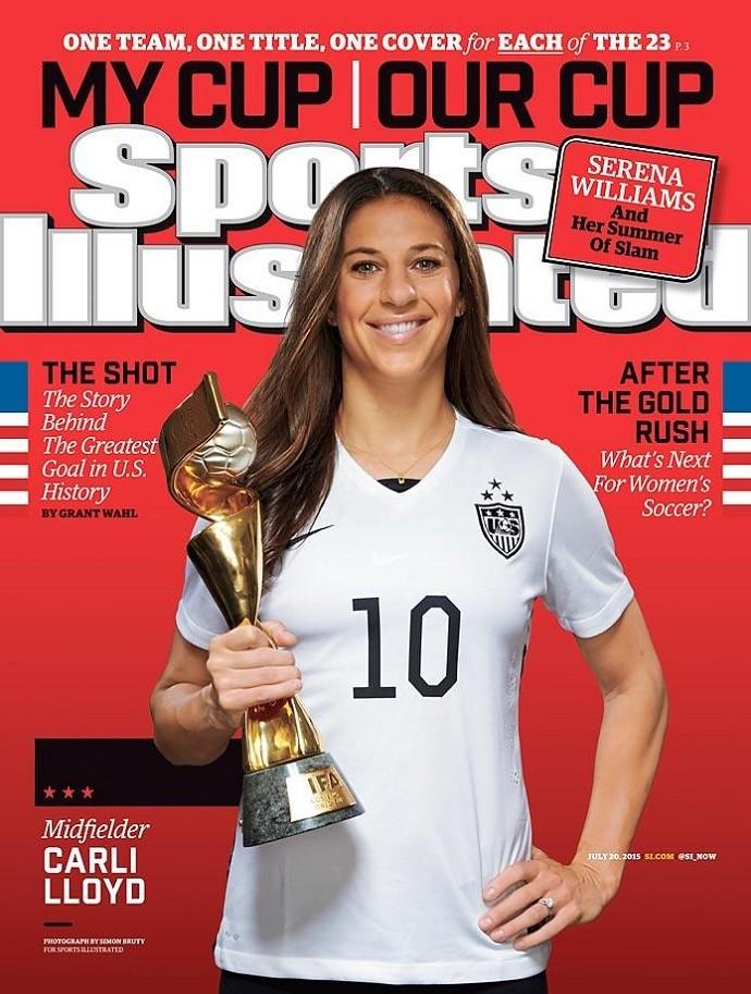 Capa Sports Ilustrated - seleção feminina Estados Unidos