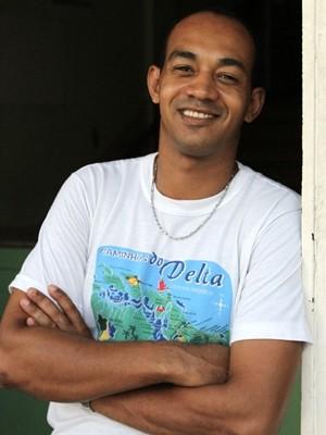 Eduardo Matos, ex-morador da Casa de Acolhida que largou as drogas e passou em concurso (Foto: Adriano Zago/G1)