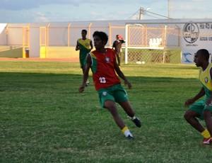 Atacante Lima é o novo reforço do Santa Cruz-RN (Foto: Santa Cruz-RN/Divulgação)