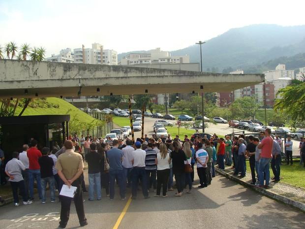 Assembleias foram realizadas em Florianópolis e outras regionais (Foto: Sinergia/Divulgação)