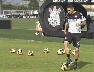 Guerrero treino Corinthians (Foto: Daniel Augusto Jr. / Ag. Corinthians)