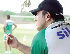 Paulo Moroni, técnico do Baraúnas (Foto: Wilson Moreno/Gazeta do Oeste)