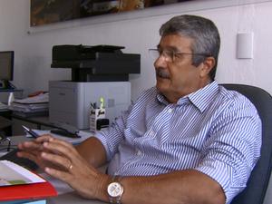 Diretor de Administrativo da Prefeitura de Porto Ferreira Roberto Diniz (Foto: Rodrigo Sargaço/ EPTV)