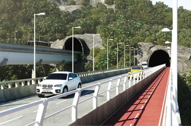 túnel joá (Foto: Prefeitura do Rio/Divulgação)