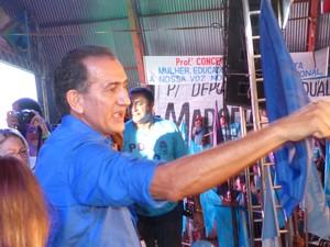 Waldez Góes é canditado ao governo do Amapá (Foto: Dyepeson Martins/G1)