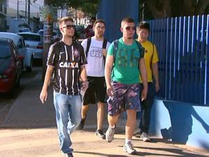 Alunos voltam às aulas na USP de São Carlos (Foto: Rodrigo Sargaço/EPTV)