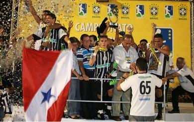 São Raimundo e Remo campeões brasileiros (Foto: Marcelo Seabra/O Liberal e Carlos Silva)