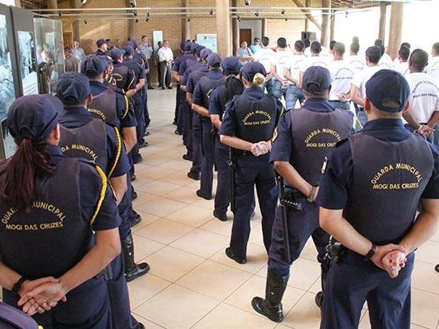 Guarda Municipal de Mogi das Cruzes (Foto: Ney Sarmento/ PMMC)