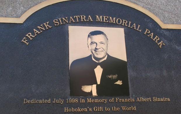 Memorial Frank Sinatra Nova Jersey (Foto: Márcio Iannacca / Globoesporte.com)