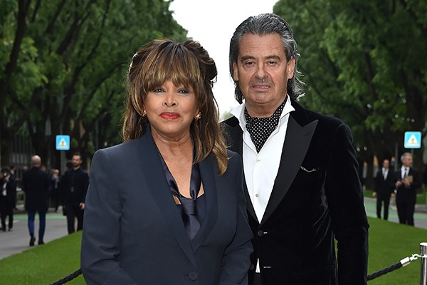 Tina Turner e Erwin Bach (Foto: Getty Images)