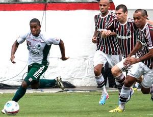 Everton Silva jogo Boavista Fluminense (Foto: Agência Estado)