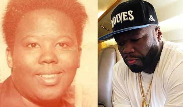 Sabrina Jackson e 50 Cent (Foto: Reprodução Oprah / Instagram)