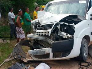 Acidente mata turista na região sul da Bahia (Foto: Aurea Catharina/Arquivo Pessoal)