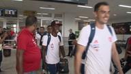 Flamengo chega ao ES para a final da Taça Guanabara no Kleber Andrade