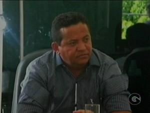 Presidente da Câmara de Vereadores de Exu, Jurandir Severo de Carvalho (Foto: Reprodução/TV Grande Rio)