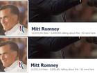 Site acompanha queda de Romney no Facebook