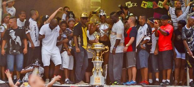 Vai-Vai é campeã do carnaval de São Paulo (Flavio Moraes/G1)