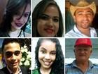 Conheça as vítimas que morreram na colisão entre dois ônibus em Alagoas
