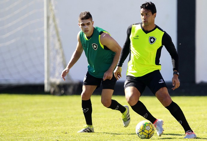 Dudu Cearense, Botafogo (Foto: Vitor Silva / SSpress / Botafogo)