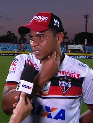 Walter - atacante do Atlético-GO (Foto: Reprodução / PFC)