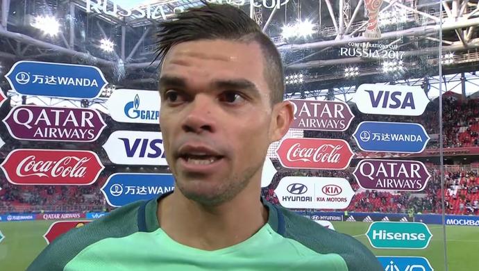 Pepe, zagueiro de Portugal (Foto: Reprodução SporTV)