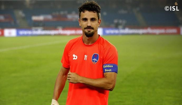 Marcelinho, Delhi Dyanmos FC (Foto: Reprodução)