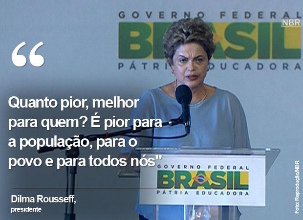 Frase Dilma Maranhão (Foto: Arte/G1)