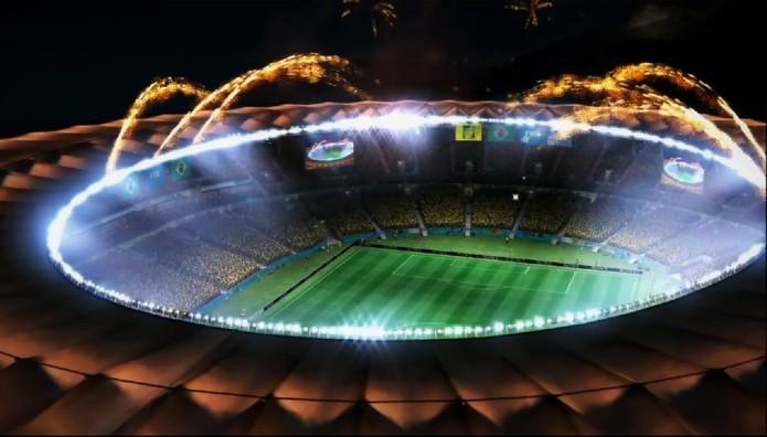 Maracanã aparece em festa no novo trailer de 2014 Fifa World Cup Brazil (Foto: Reprodução/ Youtube)
