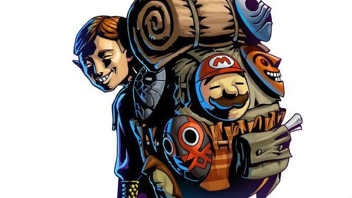 Mario é uma das máscaras do vendedor de Zelda Majoras Mask (Foto: Divulgação / Nintendo)