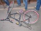 Ciclista morre ao ser atropelado na BR-364 (Jaru Notícias/Reprodução)