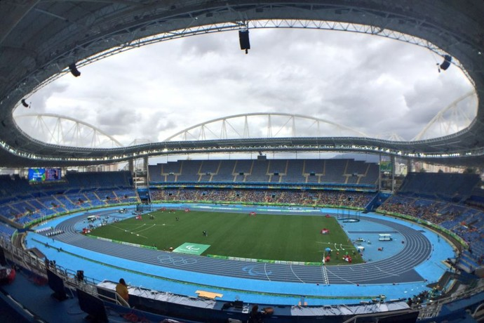 Engenhão - atletismo paralimpíada rio 2016 dia 2 (Foto: Cahê Mota)