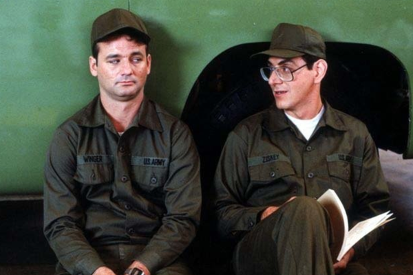 Os atores Bill Murray e Harold Ramis (Foto: Getty Images)